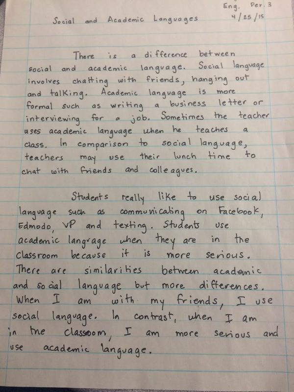 comparing stories essay